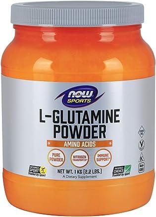 NOW Sports L-Glutamine Powder, 1-Kilogram