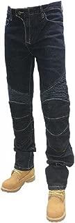 Komine Motorcycle Pants for Men Size 36 Denim Jeans for Men Street Motorcycle Denim Jeans Navy Blue