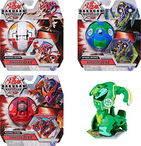 Bakugan Deka Armored Alliance Jumbo Collectible Transforming Figure, styles may vary for Ages 6 and Up