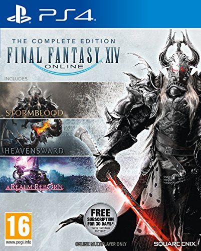 Final Fantasy XIV Online Complete Edition pour PS4 (New)