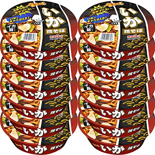 徳島製粉 金ちゃん いか焼きそば 129g 12個