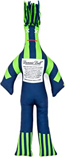 Dammit Doll - Win The Contender - Navy & Lime - Stress Relief - Gag Gift - Sports Teams