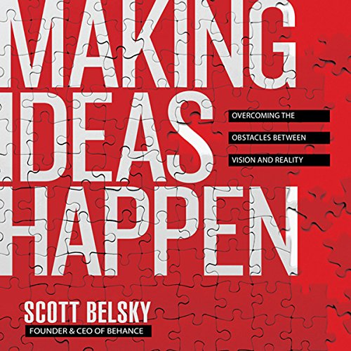 Making Ideas Happen audiobook cover art