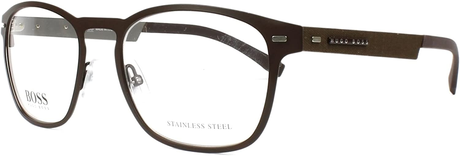 1542905257e2 Hugo Boss frame frame frame (BOSS-0935 4IN) Metal Matt Brown - Matt Gun  0027ea