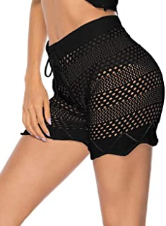 Kistore Womens Crochet Net Hollow Out Beach Pants Sexy Swimsuit Cover Up Pants