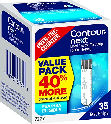 buy CONTOUR NEXT Blood Glucose Test Strips, 35 Count Blood Test Strips