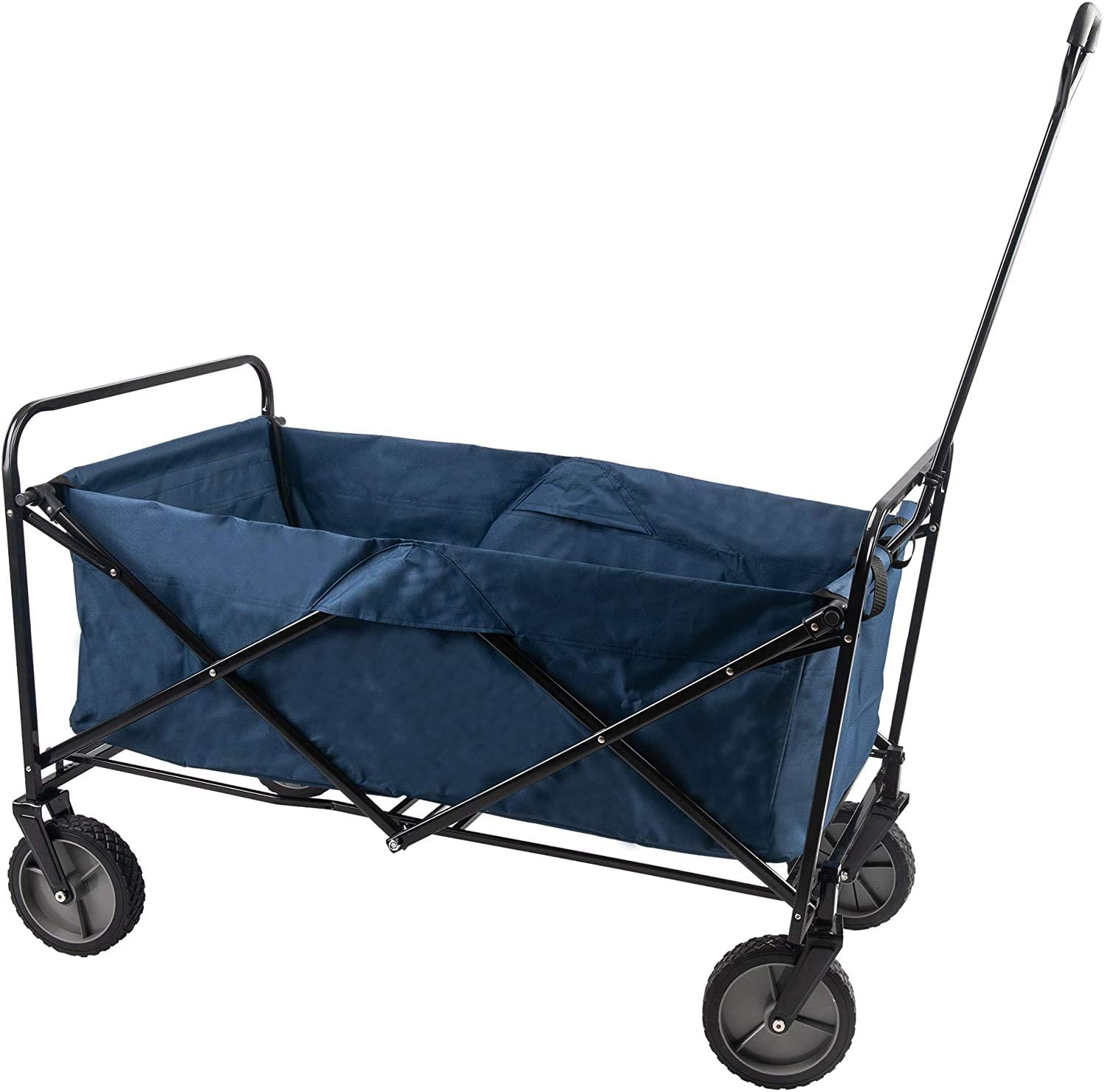 GOJOOASIS Beach Wagon Collapsible w 5 ☆ very popular Fort Worth Mall Cart Folding Wheels