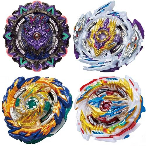 BEUTEESER 4 Pieces Metal Master Fusion Gyro Toys...