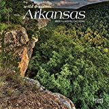 Arkansas Wild & Scenic 2022 7 x 7 Inch Monthly Mini Wall Calendar, USA United States of America Southeast State Nature