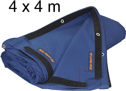 Boje Sport Boxring Oberplane 4 x 4 m aus robustem Baumwollstoff, Farbe  dunkelblau (individuelle Größe und Farbe auf Anfrage möglich) B00LC4FXPU     | Geeignet für Farbe