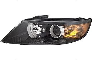 Drivers Halogen Headlight Headlamp Lens Replacement for Kia SUV 92101-1U200 AutoAndArt