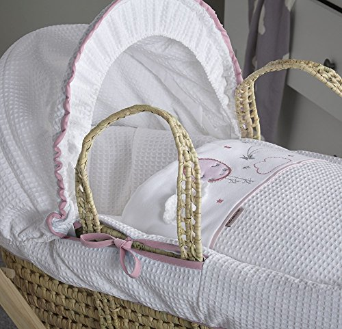 Clair de Lune Over The Moon Palm Moses Basket Product Image