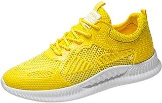 LHWY Sneakers voor heren, wit, zwart, ademend, antislip, outdoorschoenen, mode sport vrijetijdsschoenen, joggen, platte sc...