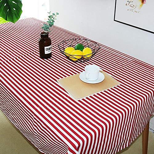 Modern Decoratief Tafelkleed Feest Eettafel Cover Gestreept Rechthoek Tafelkleed Huis Keukentafel Kleden 140X200Cm