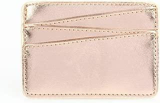 Leviro Slim PU Leather Minimalist Gredit Card Holder Front Pocket Wallets for Women & Men