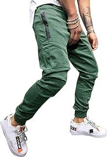 Casual Pantalon Multi Poche Cargo Sports De Combat Pantalons Cinnamou Hommes Pantalon Cargo Pantalon de Travail Style Militaire