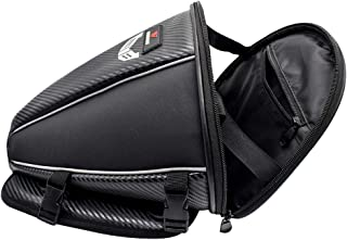Kesoto Bolsa de sela de motocicleta de 15 litros – mochila impermeável para enrolar no assento – para motociclismo, ciclis...