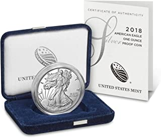 2018 S American Silver Eagle One Ounce Silver $1 Proof US Mint