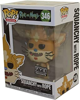 Pop! Animation Rick & Morty Vinyl Figure Squanchy with Rope #346 FYE Exclusive
