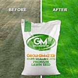 GroundMaster Hard Wearing Tough Garden Premium Back Lawn Grass