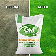 GroundMaster Hard Wearing Tough Garden Premium Back Lawn Grass Seed (5KG)