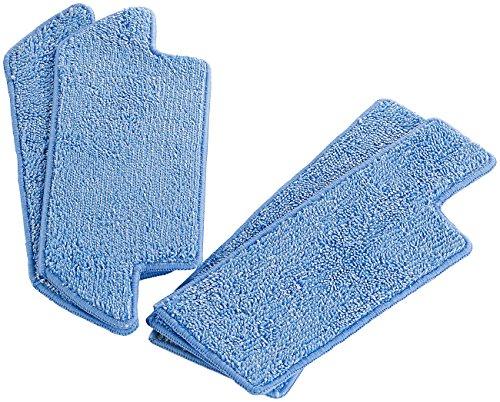 Sichler Haushaltsgeräte Zubehör zu Saugroboter mit Akku: Ersatz-Wischtücher für Saug- & Bodenwischroboter PCR-8500LX (Saugroboter mit Bürsten, Brushs)