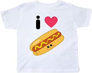 I Love Hot Dogs Toddler T-Shirt
