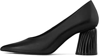 Uterque Women Leather high Heel Court Shoes 5123/051