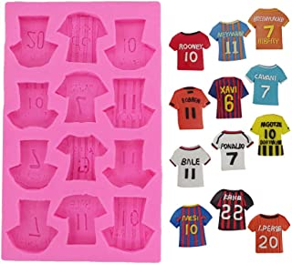 football shirt cake mould