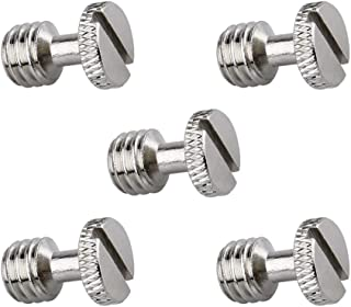 NICERYIG 3/8 Inch Camera Tripod Screw Quick Release Screw Adapter Connector DSLR Camera Rig Accessories- 5 Pack