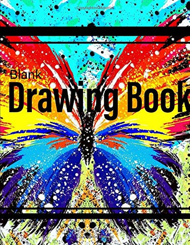 Blank Drawing Book: 8.5' x 11' Large...