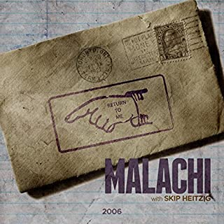 39 Malachi - 2006 audiobook cover art