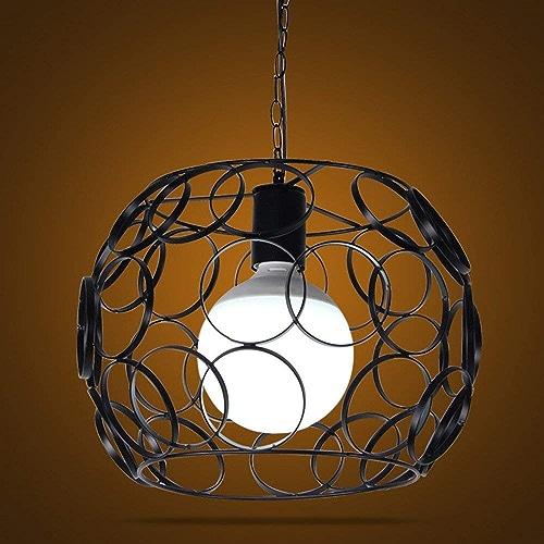 Suspension moderne, style vintage, suspension creuse à 1 lumière, plafonnier