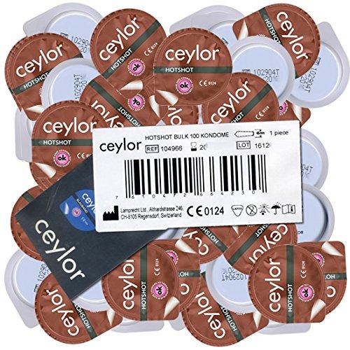 Ceylor Tight Feeling, 100 kleine condooms met een vernauwde opening, breedte 45mm
