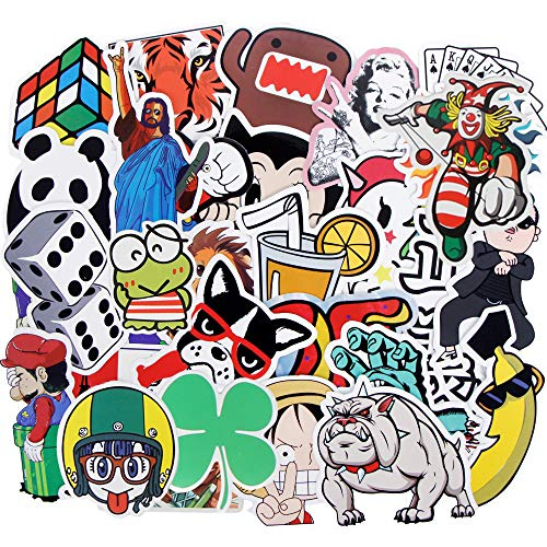 HAMISS 50 stks muur Willekeurige Stickers Voor Home Decor Auto Sticker Home Decoratie Koffer Laptop Helm Skateboard Bagage Telefoon Gitaar Motor Koelkast