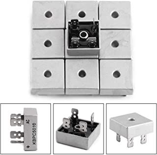 KBPC5010 50A 1000V High-power Metal Case Single Phase Diode Bridge Rectifiers, Pack of 10