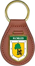 Robles Family Crest Coat of Arms Key Chains
