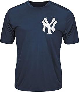 Majestic New York Yankees T-Shirt Style Jersey