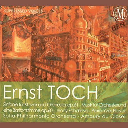 Pierre-Yves Pruvot, Amaury du Closel, Sofia Philharmonic Orchestra