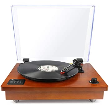 ION Audio Max LP - Tocadiscos de vinilo de 3 Velocidades con ...