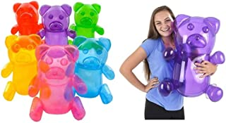 6 Inflatable Gummy Bears 24 Inches Tall Party Decorations Photo Ops CandyLand