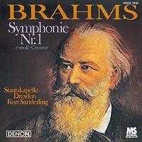 Brahms: Symphonie No. 1 in C Minor by Kurt Sanderling (2010-07-28)