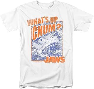 Jaws What's Up Chum Shark Retro T Shirt