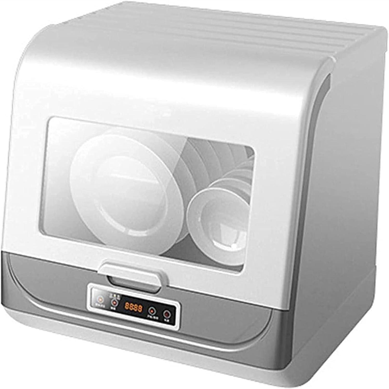 Mini lavavajillas, Hogar Totalmente Automático Lavavajillas de Escritorio Pequeños Lavavajillas Inteligentes 70℃ Alta Temperatura, Lavavajillas Encimera Para Cocina De Apartamento, Caravana