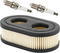 Kaymon 798339 Air Filter Cartridge Spark Plug for Briggs & Stratton 550e 550ex 625ex 725exi Series Engines 09P000 MTD BS-798452 593260 Lawn Mower Engine