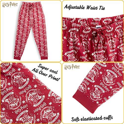 Harry-Potter-Ladies-Men-Pyjama-Bottoms-PJs-100-Cotton-Pyjamas-Lounge-Pants-Hogwarts-Pyjamas-Men-Pajama-Long-Trousers-Nightwear-Gifts-Boys-Girls-Men-Women