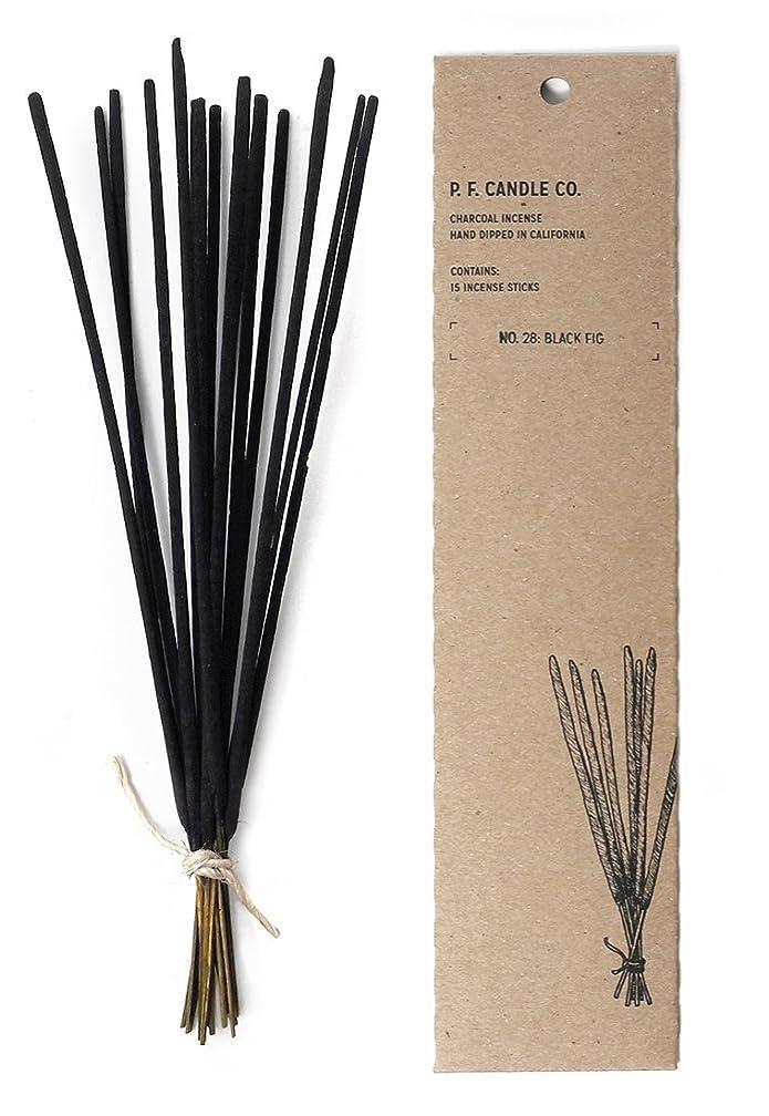 スカート製造仕事に行くp.f. Candle Co。No。28?:ブラックFig Incense ( 2?- Pack )