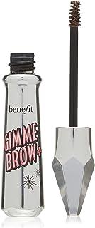 Benefit Gimme Brow+ Volumizing Fiber Gel, #3 Medium Neutral Light Brown, 0.05 Fl Oz