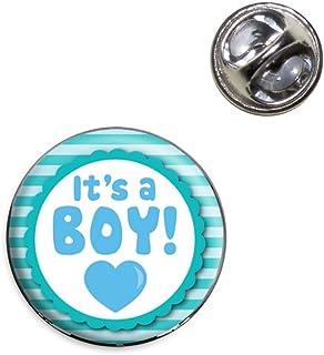 It's A Boy Baby Lapel Hat Tie Pin Tack