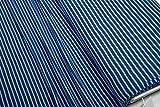 mollipolli-Stoffe Jersey Little Darling dunkelblau blau